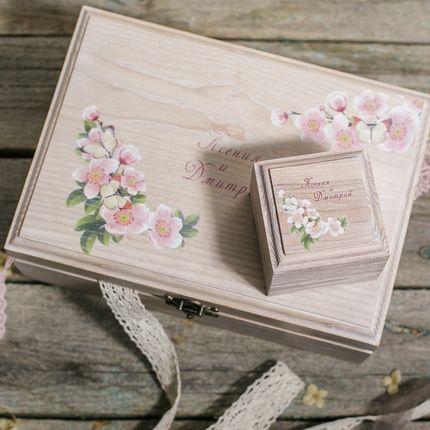 Короб для конвертов(в виде шкатулки)