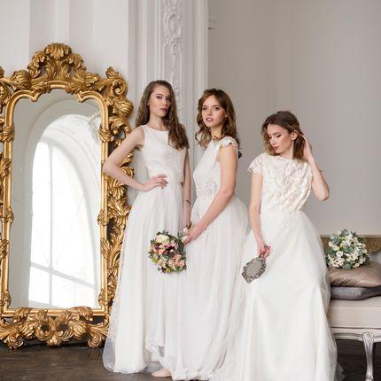 Пошив кружевного свадебного платья