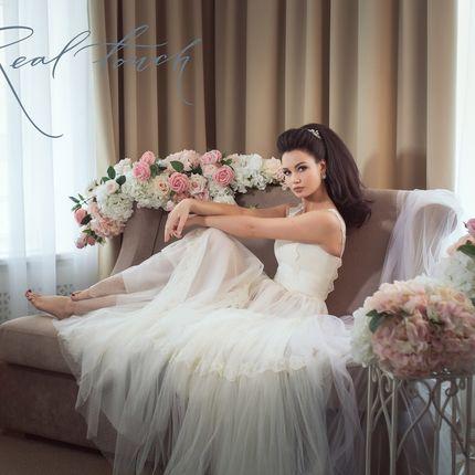 """Декор цветами фотосессии """"Утро невесты"""""""