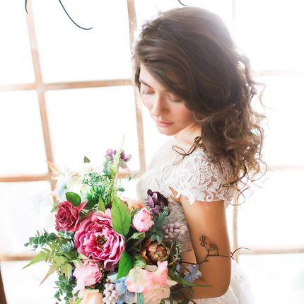 Букет невесты Real touch + дублёр