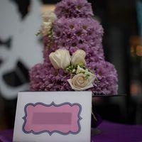 Флористический торт (один ярус диаметром 30 см)