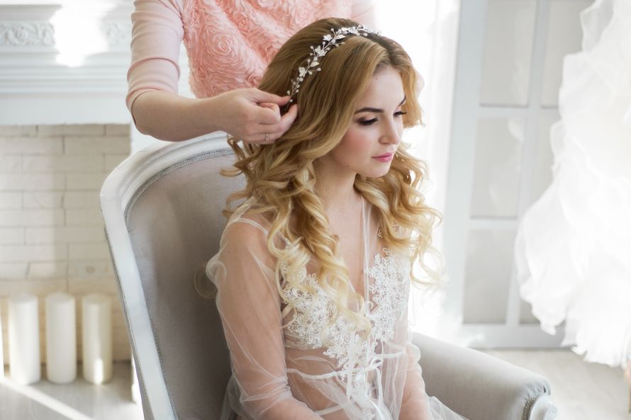 Фото 16556232 в коллекции Мои невесты 2016-2019 - Стилист Екатерина Харченко