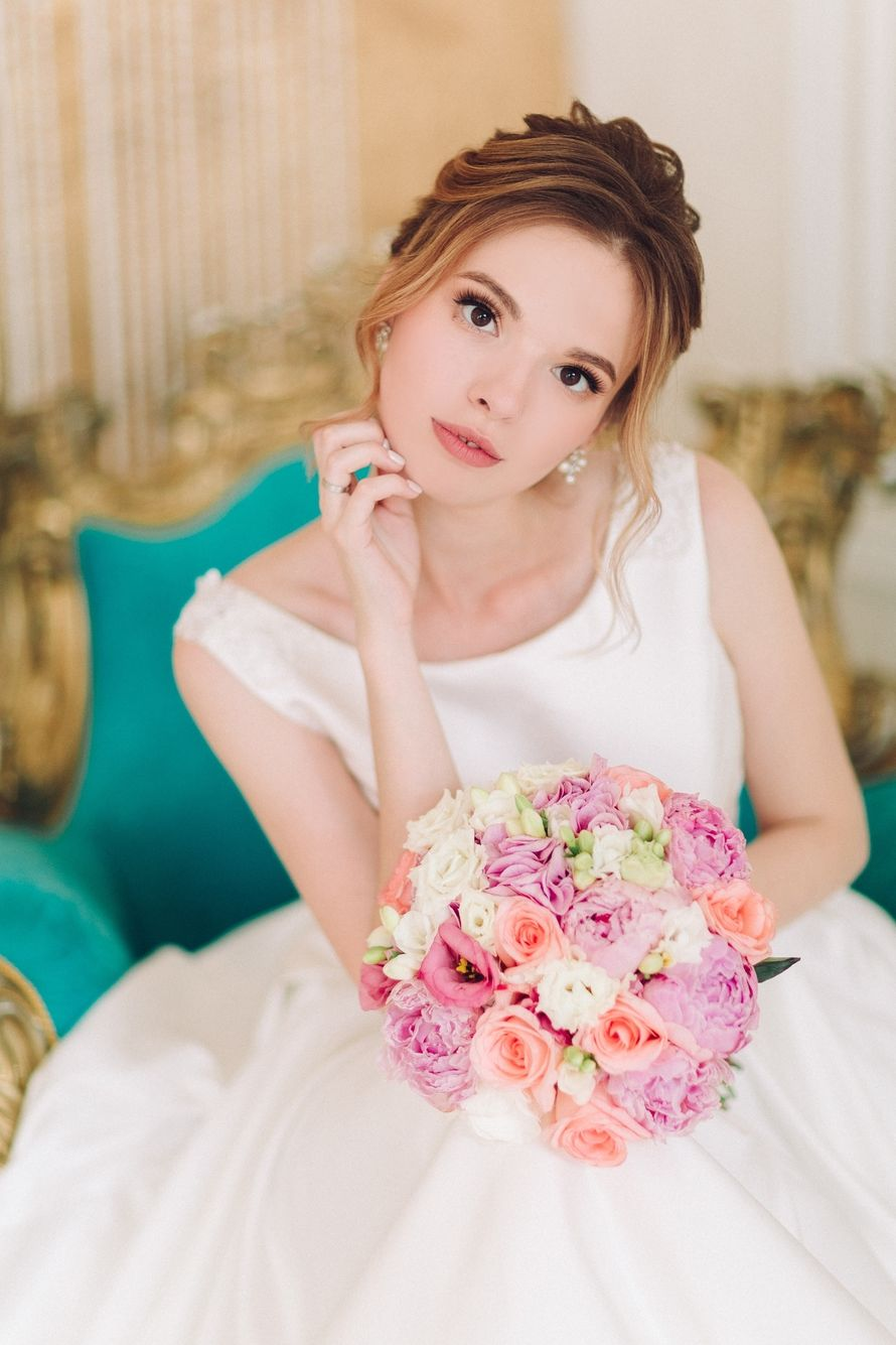 Фото 18175552 в коллекции Мои невесты 2016-2019 - Стилист Екатерина Харченко