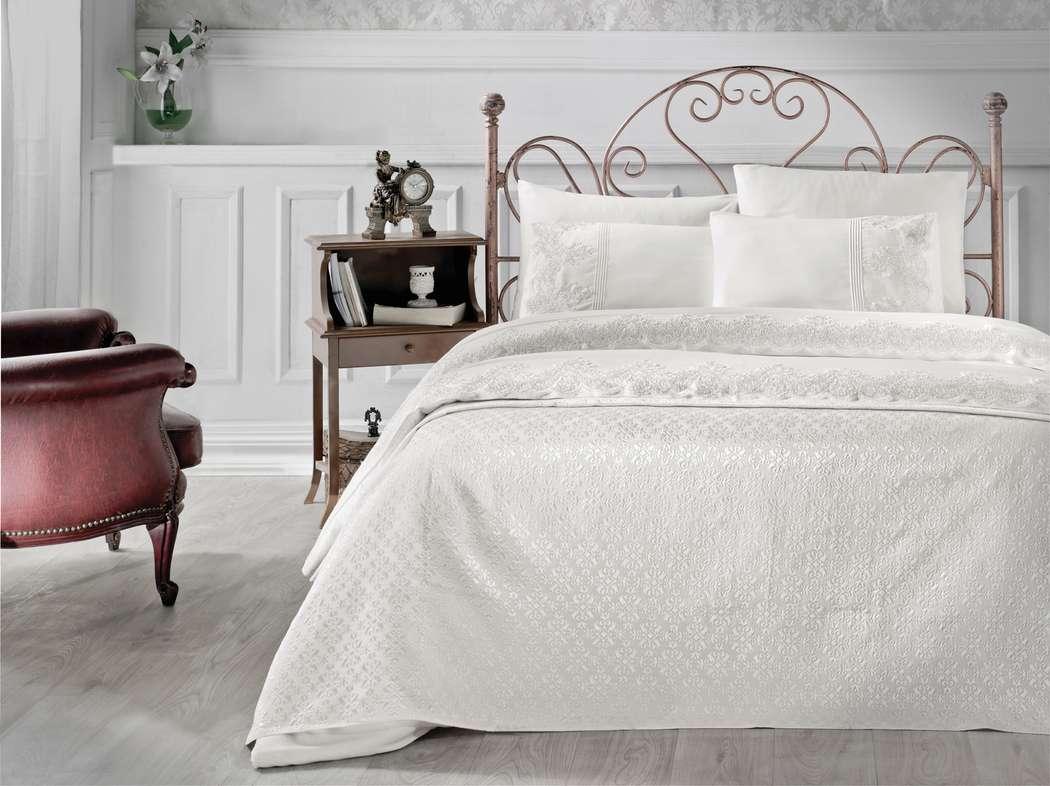 Фото 14544602 в коллекции Комплект постельное белье + покрывало - Магазин уюта Textilio