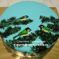 Птички-синички, 1,6кг, внутри чизкейк рафаэлло