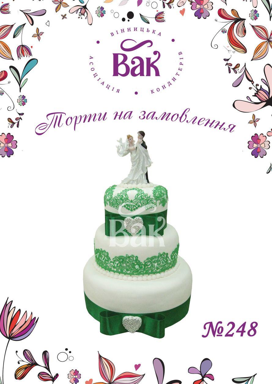 Фото 14635376 в коллекции Свадебные торты Винница - ВАК - Винницкая ассоциация кондитеров