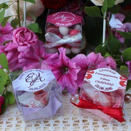Конфетные бонбоньерки, цена за 1 шт