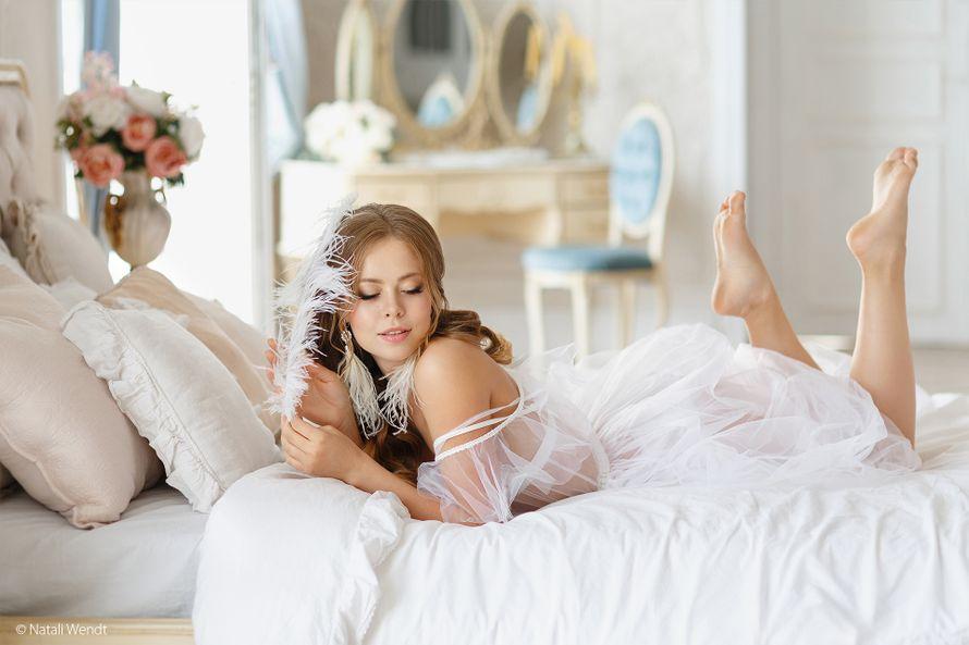 Будуарное утро невесты - фотосъёмка