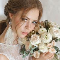 Зефирный букет невесты