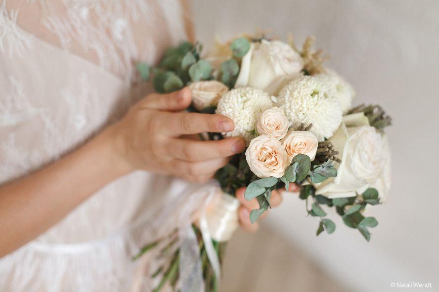 Зефирный букет невесты - фото 17701898 Фотограф Наталья Вендт