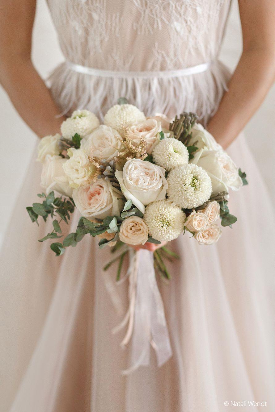 Зефирный букет невесты - фото 17701904 Фотограф Наталья Вендт