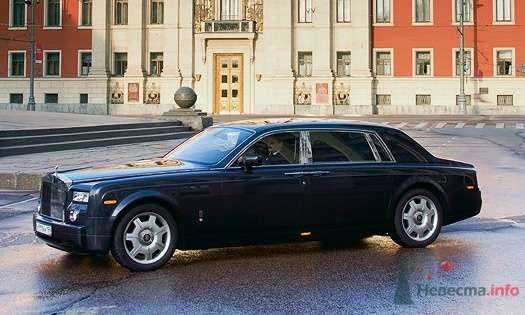 Rolls-Royce Phantom - фото 34844 Black and White Cars - аренда лимузинов