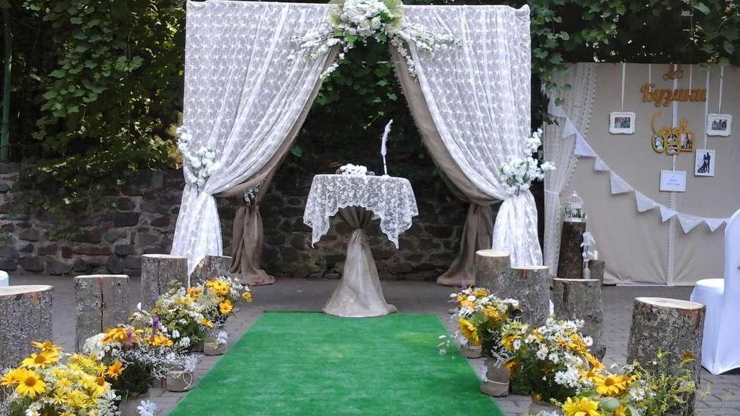 Свадьба в сердце леса. Выездная регистрация. - фото 14662000 Загородный клуб Дом Лесника