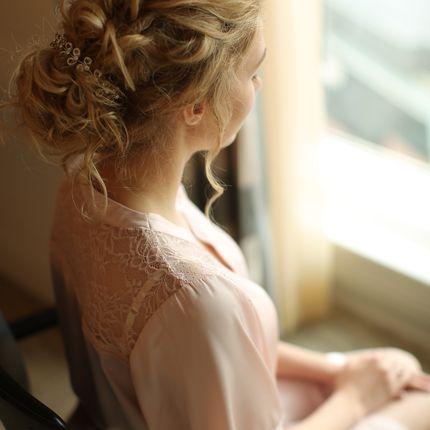 Свадебный образ - прическа и макияж