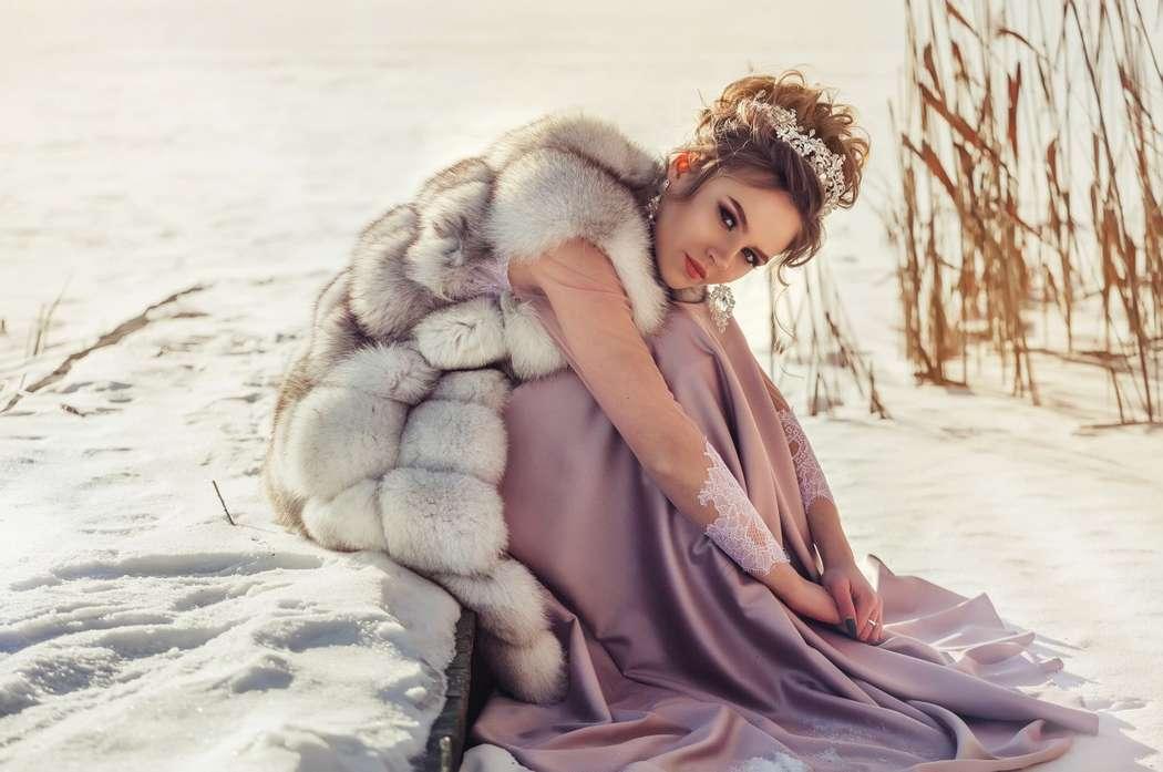 Даже зимой невесты прекрасны.... Фотограф Анастасия Андрешкова - фото 14686474 Фотограф Андрешкова Анастасия