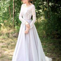 """Свадебное платье """"Роскошный букет сирени"""""""