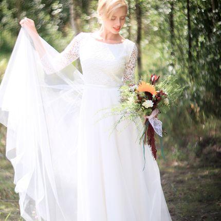 """Свадебное платье """"Нежный аромат"""""""