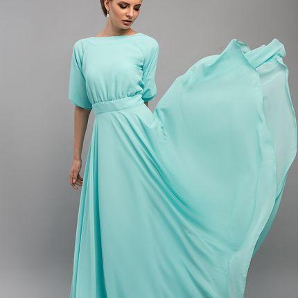 """Свадебное платье """"Бирюзовая мистерия"""""""
