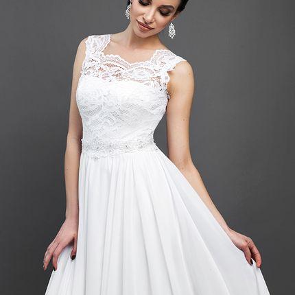 """Свадебное платье """"Струящаяся мелодия"""""""