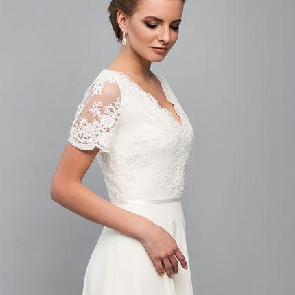 """Свадебное платье """"Шёпот янтаря"""""""