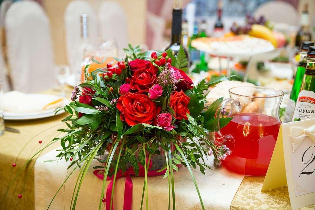 Композиция на столы гостей - фото 14832234 Простые правила - мастерская декора