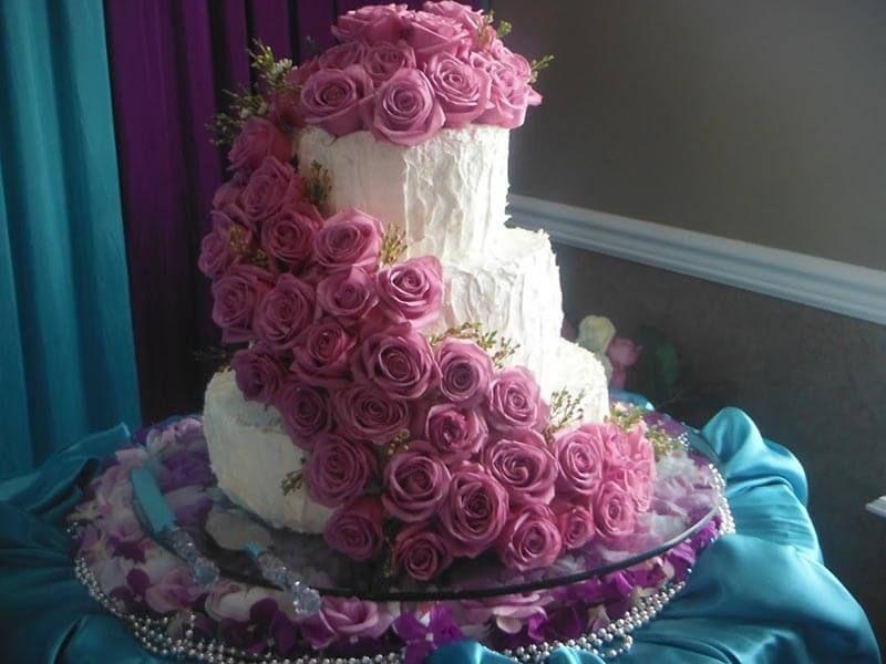 Свадебные торты, цена за 1 кг