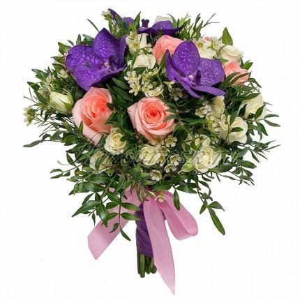 Букет невесты Королевская орхидея