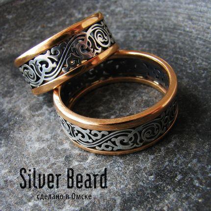 """Обручальные кольца """"A la Russe"""""""