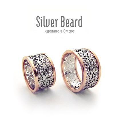 """Обручальные кольца """"Flora"""""""