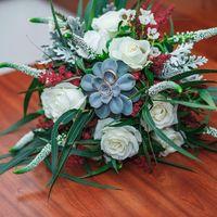 Букет невесты, свадебная флористика