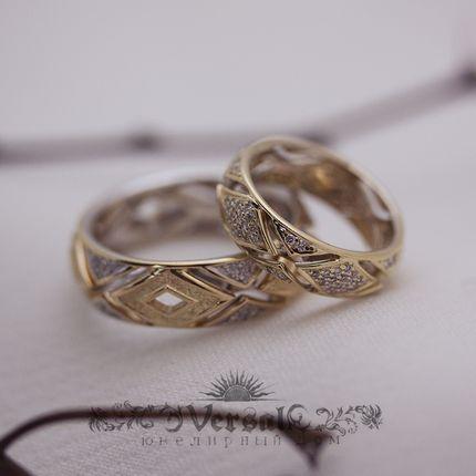 Обручальные кольца, арт. VGOK0065