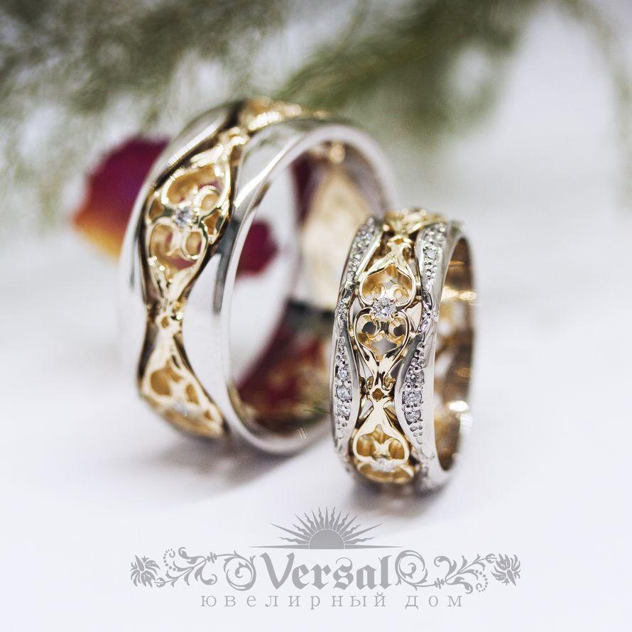 Обручальные кольца, артикул VGOK0212