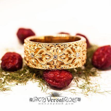 Обручальные кольца, артикул VGOK0211