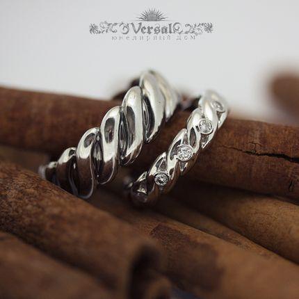 Обручальные кольца, артикул VGOK0101