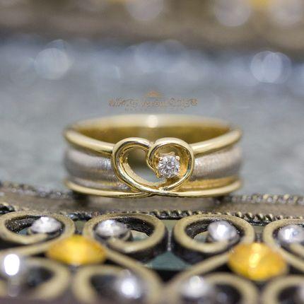 Обручальные кольца, артикул VGOK0118