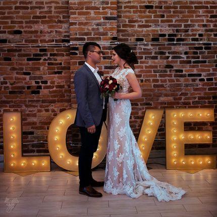 Буквы Love с подсветкой в аренду