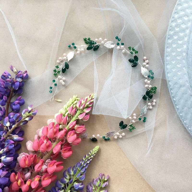 Фото 15028490 в коллекции Свадебные украшения - Bead brad accessories - свадебные украшения