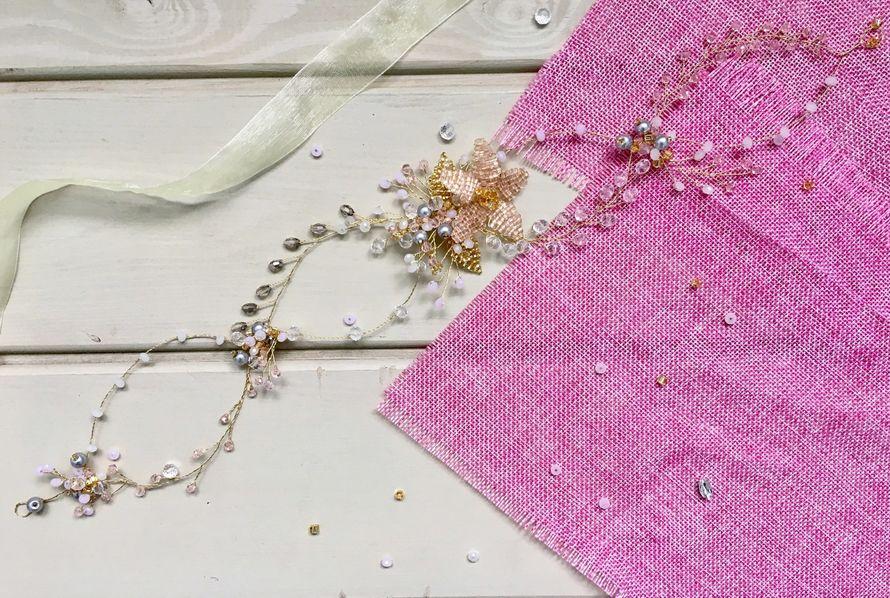 Фото 15028532 в коллекции Свадебные украшения - Bead brad accessories - свадебные украшения