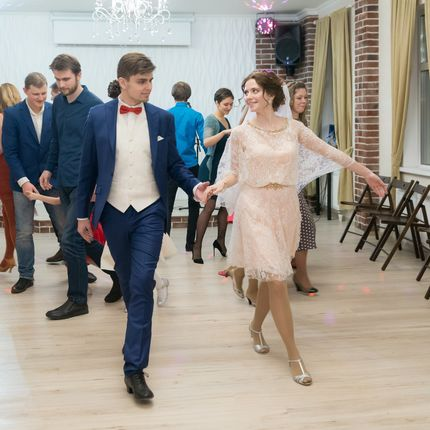 Мастер-класс по танцам на свадьбе