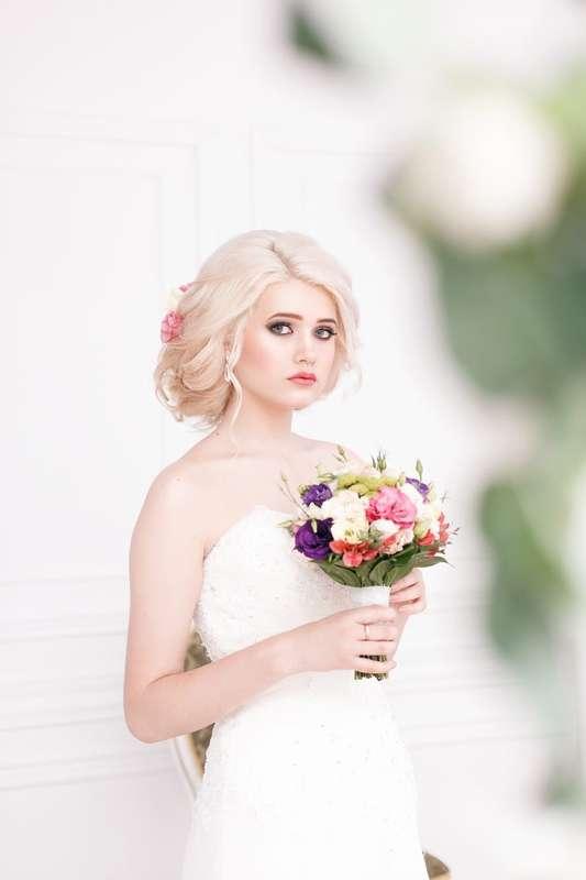 Фото 15034206 в коллекции Свадебный образ (макияж и причёска) - Стилист Антонина Овечкина