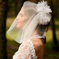 а раньше я уже снималась в свадебных платьях :)