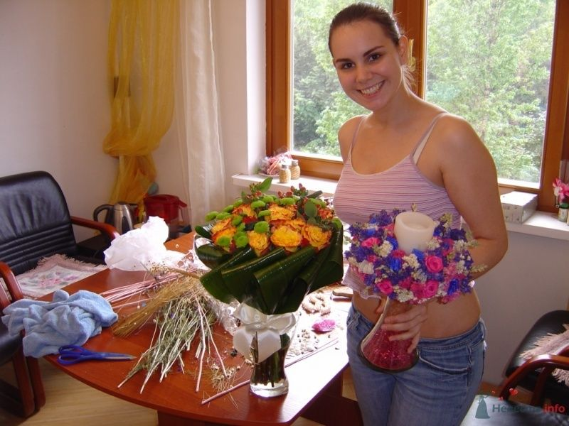 Вот такие красотульки у меня получились))  - фото 38077 Вашкетова Юлия - организатор свадеб, флорист.