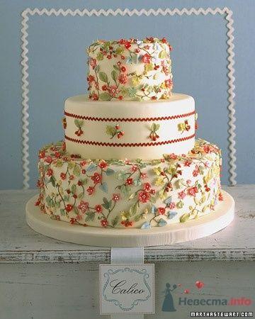 Фото 50684 в коллекции Тортики - Вашкетова Юлия - организатор свадеб, флорист.