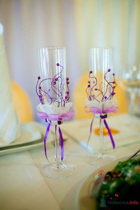 Бокалы ручной работы в моем исполнении - фото 80325 Вашкетова Юлия - организатор свадеб, флорист.