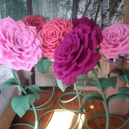 Ростовые цветы для украшения интерьера и создания фотозоны