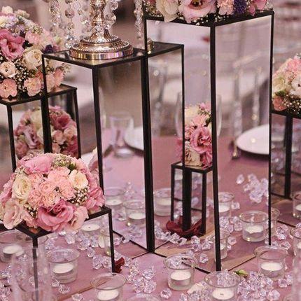 Цветочное оформление столов гостей, цена за 1 композицию