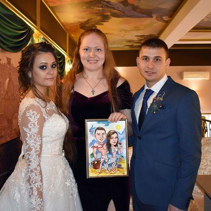 Свадебный шарж по фото - комплексное предложение