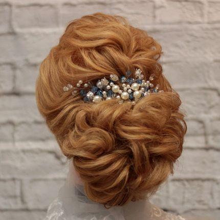 Украшение в свадебную причёску