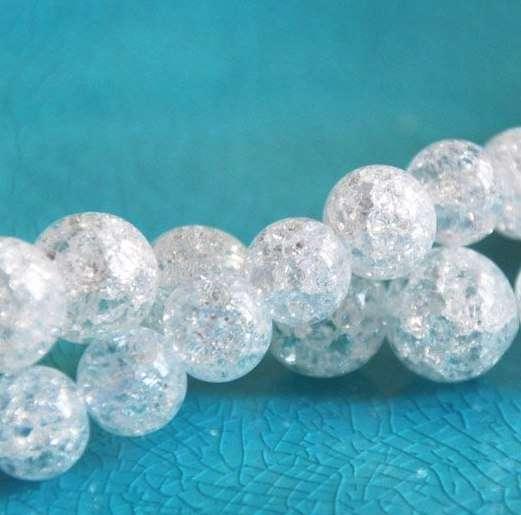 Натуральный снежный кварц. 12 мм, 10 мм - фото 15295560 Magic crystal - ювелирный салон