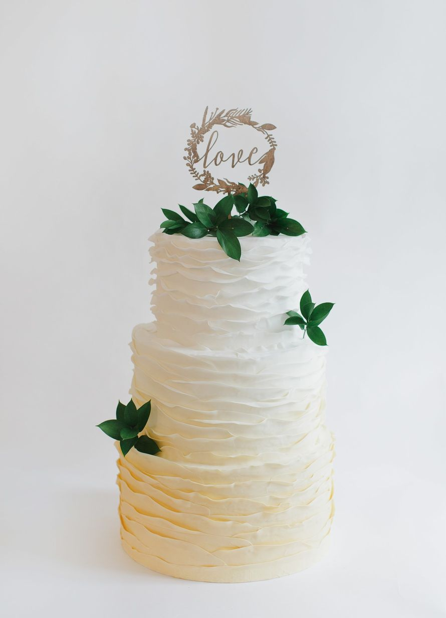 Украшение для торта Botanical Garden